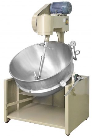Gas heated oil insulated cooker mixer - Taiwan